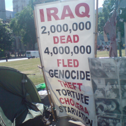 Promote Peace, Not War