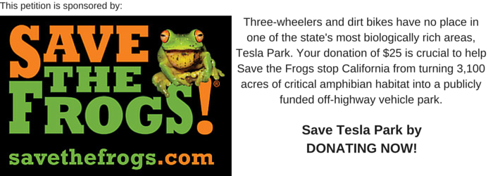 Save the Frogs Campaign
