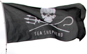sea shepherd flag by john
