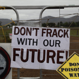 Stop Locally Rejected Fracking Well Construction