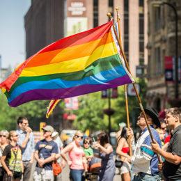 Oppose Anti-Semitism at Pride March
