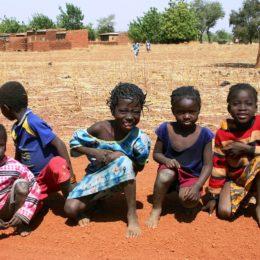 Africa Burkina Faso Nanoro Children