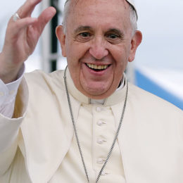 Encourage Pope Francis to Continue to Affirm Homosexuals