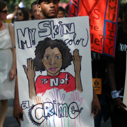 Address the Epidemic of Racial Profiling and America's Deep History of Racism