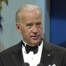 Vice President Joe Biden speaks during the Commander in Chief's Ball in downtown Washington, D.C., Dec. 20, 2009. More than 5,000 men and women in uniform are providing military ceremonial support to the presidential inauguration, a tradition dating back to George Washington's 1789 inauguration.
